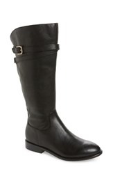 Isola Trimont Knee High Boot Black Leather