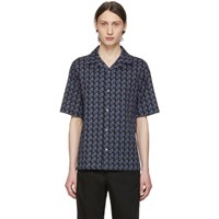 Mcq By Alexander Mcqueen Black Repeat Logo Billi Shirt