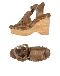 Keb Sandals Dark Brown