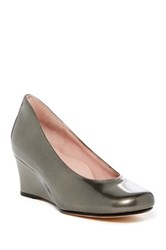 Taryn Rose Taijo Wedge Pump Metallic