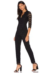 Nightcap Deep V Dixie Catsuit Black