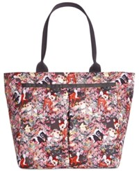 Le Sport Sac Lesportsac Bambi Collection Every Girl Tote Bambi And Friends G146