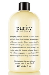 Philosophy 'Purity Made Simple' One Step Facial Cleanser 8 Oz No Color