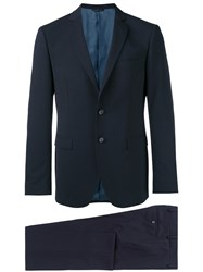 Tonello Single Breasted Formal Suit Blue