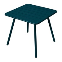 Fermob Luxembourg Garden Table Acapulco Blue