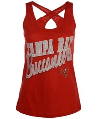G3 Sports Women's Tampa Bay Buccaneers Crossback Tank Red