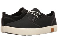 Timberland Amherst Plain Toe Canvas Oxford Black Canvas Men's Lace Up Casual Shoes