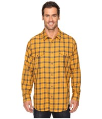 Filson Lightweight Alaskan Guide Shirt Gold Dark Olive Men's Long Sleeve Button Up