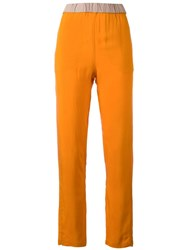 Humanoid Carmo Trousers Yellow Orange
