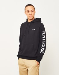Huf X Penthouse Pullover Hoodie Black