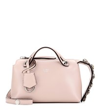 Fendi By The Way Mini Leather Shoulder Bag Pink
