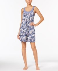 Alfani Floral Print Pleated Chemise Created For Macy's Spring Garden