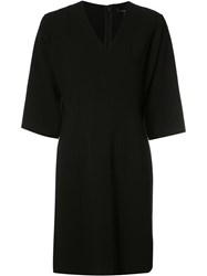 Derek Lam Bell Sleeve Dress Black