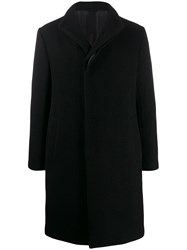 Forme D'expression High Neck Coat Black