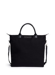 Want Les Essentiels 'O'hare' Organic Cotton Canvas Shopper Tote Black