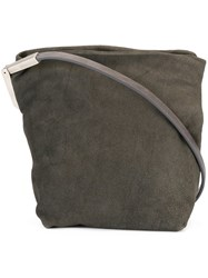 Rick Owens Small Crossbody Bag Grey