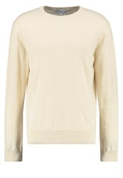 Ymc You Must Create Bel Airs Jumper Ecru Beige
