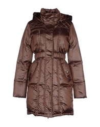 Ice Iceberg Down Jackets Bronze