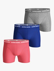 Bjorn Borg Solid Sammy Trunks Pack Of 3 Multi