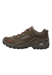 Lowa Sirkos Gtx Hiking Shoes Schiefer Rot Dark Gray