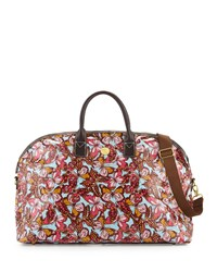 Anna Griffin Butterfly Print Large Duffle Bag Flutterfly