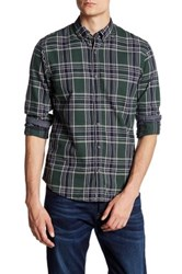 Scotch And Soda Woven Check Long Sleeve Classic Fit Shirt Multi