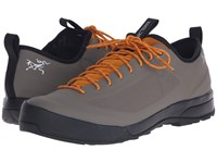 Arc'teryx Acrux Sl Approach Shoe Greystone Arc Amber Arc Men's Shoes Gray