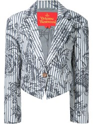 Vivienne Westwood Red Label 'Ticking' Blazer Multicolour