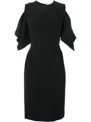 Givenchy Cold Shoulder Dress Black