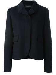 Cedric Charlier Flap Pocket Blazer Blue