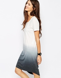 Only Dip Dye T Shirt Dress Multi