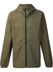 Christopher Raeburn Hooded Raindrop Anorak Jacket Green