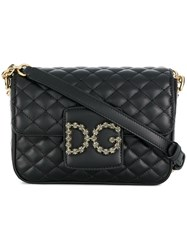 Dolce And Gabbana Dg Millennials Shoulder Bag Black