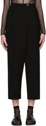 Mcq By Alexander Mcqueen Black Wide Leg Trousers