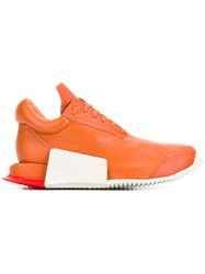 Adidas By Rick Owens Runner Level Low Sneakers Yellow Orange