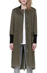 Soia And Kyo Women's Bia Drawcord Hem Coat