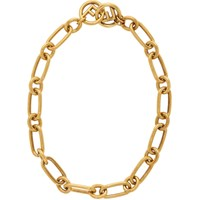 Gold 'F Is Fendi' Chain Necklace