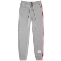 Thom Browne Tricolore Stripe Sweat Pant Grey