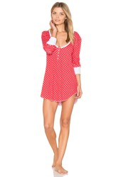 Wildfox Couture Snowday Sleep Shirt Red