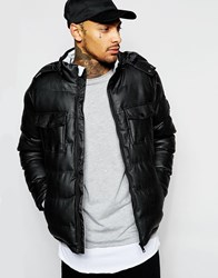 Eclipse Quilted Parka Jacket Black
