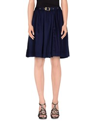 Burberry Brit Skirts Knee Length Skirts Women Dark Blue