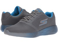 Skechers Go Run 600 Spectra Charcoal Blue Running Shoes Multi