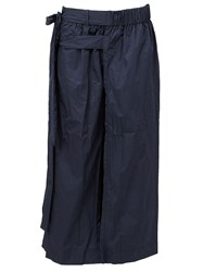 Craig Green Wide Leg Layered Trousers Blue