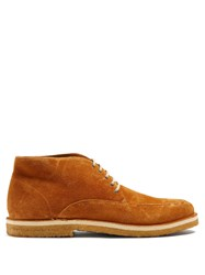 Armando Cabral Chukka Suede Ankle Boots Brown