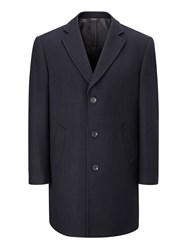 Skopes Men's Euston Overcoat Navy