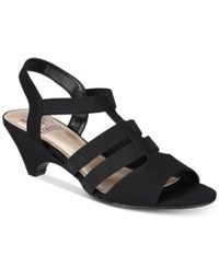 Impo Estella Stretch Strappy Sandals Women's Shoes Black