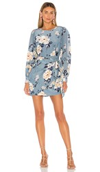 Yumi Kim Wonderland Dress In Blue. Honey Rose Stone