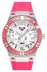 Women's Roxy 'The Bliss' Silicone Strap Watch 38Mm