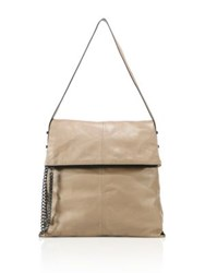 Botkier Leather Messenger Bag Chai
