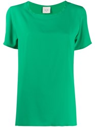 Alysi Short Sleeved Loose Fit Blouse 60